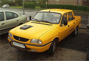 Dacia Pick-Up - Image: Dacia Double Cab