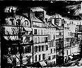 Daguerre, Louis Jacques Mandé - Daguerre photographiert aus seiner Wohnung im dritten Stock des Boulevard Saint-Martin Nr.17 (Zeno Fotografie).jpg