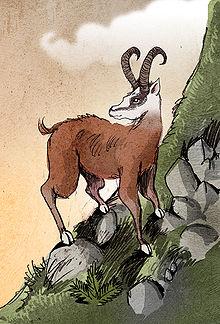 Le DAHU dans Mythologie/Légende 220px-Dahu_by_Philippe_Semeria