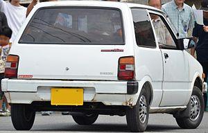 Daihatsu Mira - Three door, L55 Daihatsu Mira rear