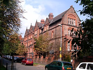 Dalton-Ellis Hall grade II listed building in Manchester, United kingdom