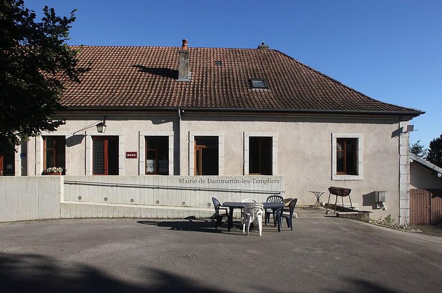 Mairie de Dammartin-les-Templiers (Doubs).