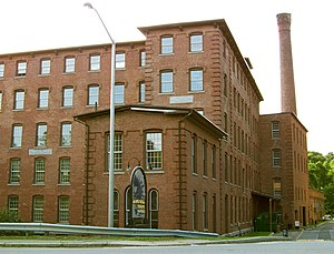 Damon Mill - Street View of the Damon Mill