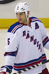 127a70aa76b Girardi as member of the New York Rangers.