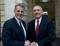 Dan Rather and CM Jim Gennaro 10--(c) William Alatriste New York City Council.jpg