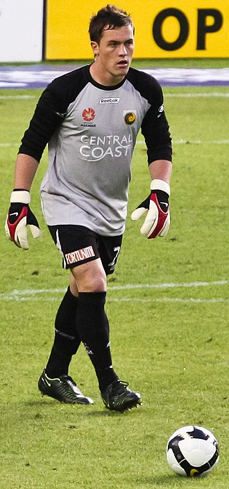 Danny Vukovic - Vukovic playing for Central Coast Mariners in 2008