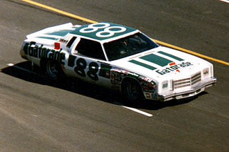 Darrell Waltrip - DiGard Gatorade Chevrolet Monte Carlo that Waltrip drove to victory in the 1978 World 600, Concord, NC, May 28, 1978