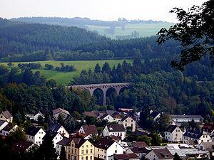 Daun, Germany - Railway viaduct in Daun, 2006