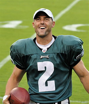David Akers - Akers with the Philadelphia Eagles in 2009