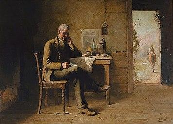 David Davies - From a Distant Land, 1889.jpg