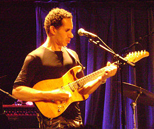 David Gilmore - Gilmore, playing with Cindy Blackman, in Treibhaus, Innsbruck 2011