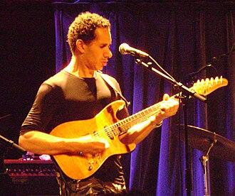 David Gilmore - Gilmore, playing with Cindy Blackman, in Treibhaus, Innsbruck 2011
