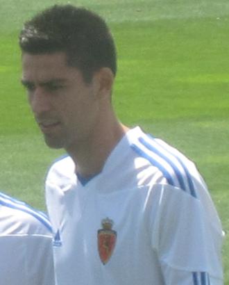 David Mateos - Mateos being presented at Zaragoza