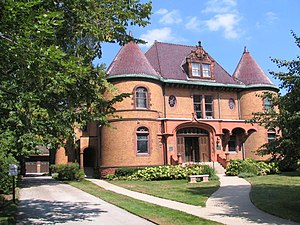 Charles G. Dawes - From 1909 to 1951, Charles G. Dawes lived in this house at 225 Greenwood St. in Evanston, Illinois, which was built in 1894 by Robert Sheppard. The house is a National Historic Landmark.