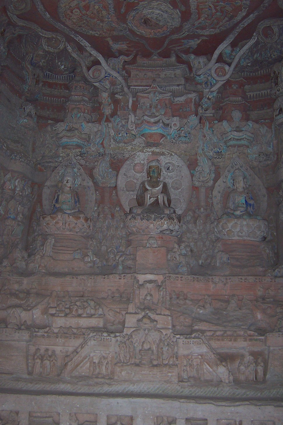 Dazu rock carvings beishan 3