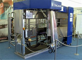 DeLaval - DeLaval automatic milking system