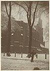 de grote kerk in de sneeuw - dordrecht - 20001453 - rce