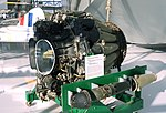 De Havilland Goblin Mark 3 jet engine - Evergreen Aviation & Space Museum - McMinnville, Oregon - DSC00536.jpg