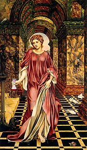 Medea by Evelyn De Morgan, 1889, in quattrocento style