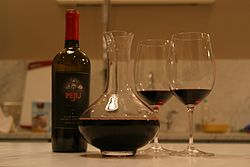 definition of decanter