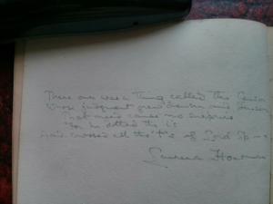 Laurence Housman - Image: Dedication by Laurence Housman in WSPU scrapbook