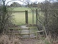 Deer Gate near Broxham Wood - geograph.org.uk - 1754606.jpg