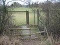 Deer Gate near Broxham Wood - geograph.org.uk - 1754606.jpg