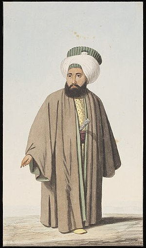 Imperial Council (Ottoman Empire) - A defterdar