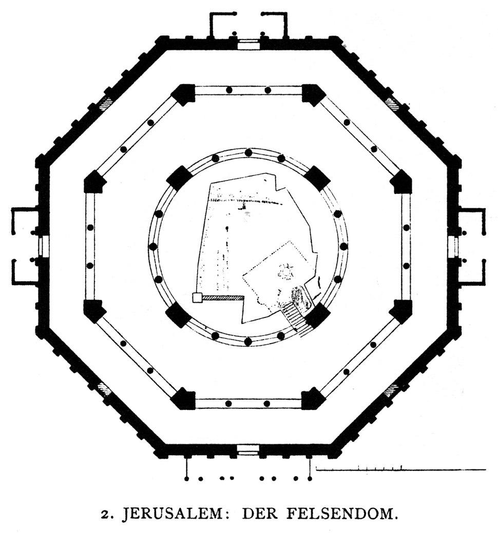 Dehio 10 Dome of the Rock Floor plan