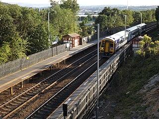 Deighton railway station
