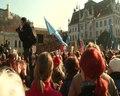 File:Delavski protesti, Ljubljana.webm