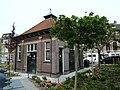 Delft S Hof van Delft Olofsbuurt 11 DE GM Hugo de Grootplein 7 Trafohuisje 16052020.jpg