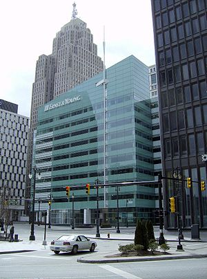 One Kennedy Square - Image: Detroit One Kennedy Square