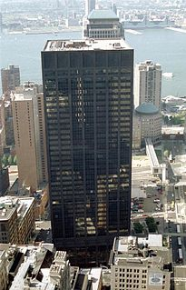 Deutsche Bank Building Former skyscraper in Manhattan, New York
