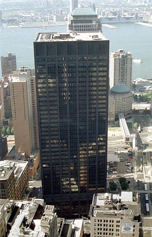 Deutsche Bank Building - View from the southeast in 1997