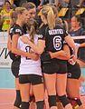 Deutsche Volleyball-Nationalmannschaft der Frauen Teamgeist.jpg