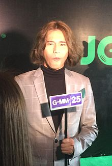 Dew Nontanun at Joox Music Awards 2017.jpg