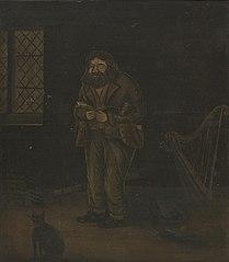 Dick Aber Daron old Welsh poet