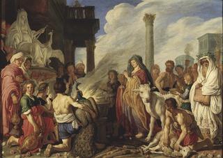 Dido's Sacrifice to Juno