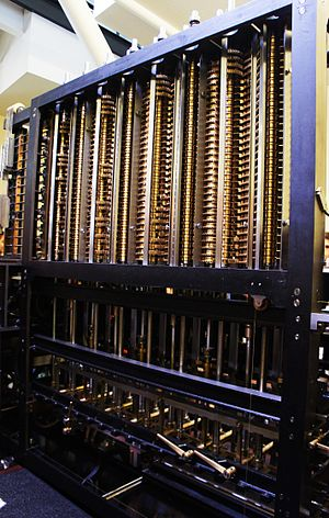 Computer History Museum - Charles Babbage's Difference Engine on Display at the Computer History Museum