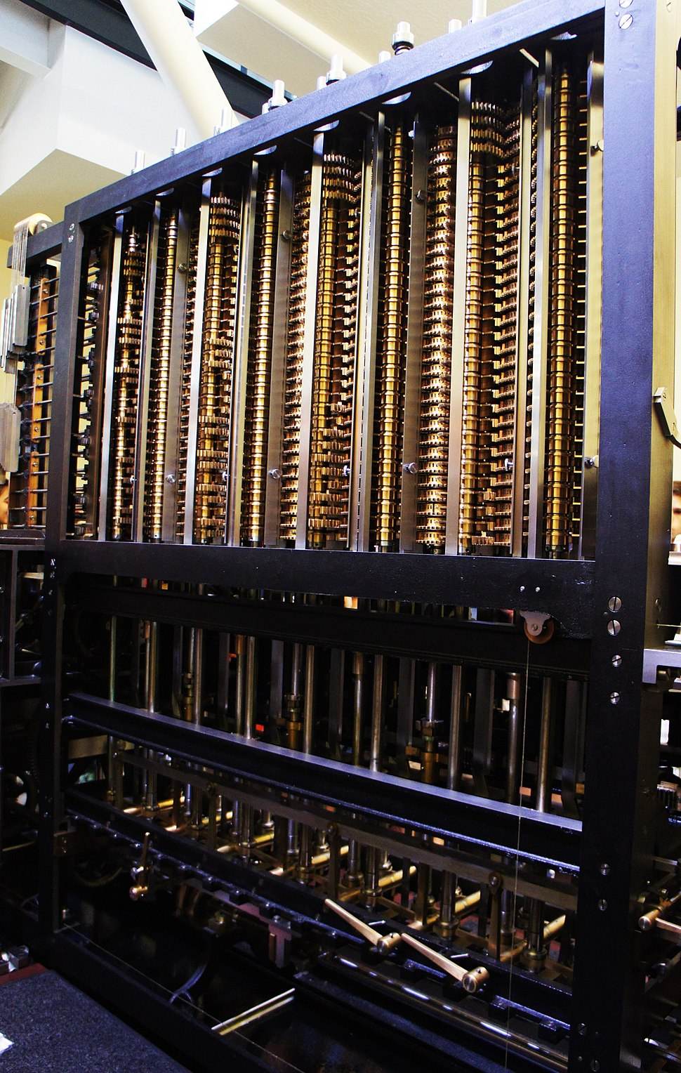 Difference Engine Computer History Museum - Aug 2015