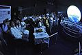 Dignitaries and Guests Watch Demonstration - Science On a Sphere Inauguration - Science City - Kolkata 2016-07-01 5506.JPG