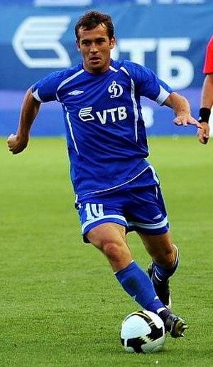 Aleksandr Kerzhakov - Kerzhakov in action for Dynamo Moscow in 2009