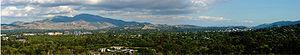Dinosaur Hill Park - Image: Dino Hill Pano 2731x 505