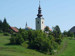 Dobje pri Lesičnem Place in Styria, Slovenia