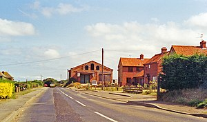 Docking railway station - Remains of the station in 1991