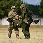 Dog Company trains for medevac in Lithuania 150709-A-FJ979-001.jpg