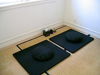 Kanzeon Zen Center - Image: Dokusan room (Kanzeon Zen center)