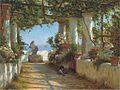 Dolce Far Niente on a South Italian Verandah by Emil Augustus Wennerwald.jpg