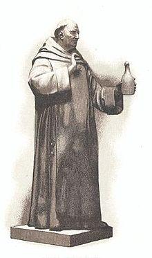 portrait de Dom Perignon